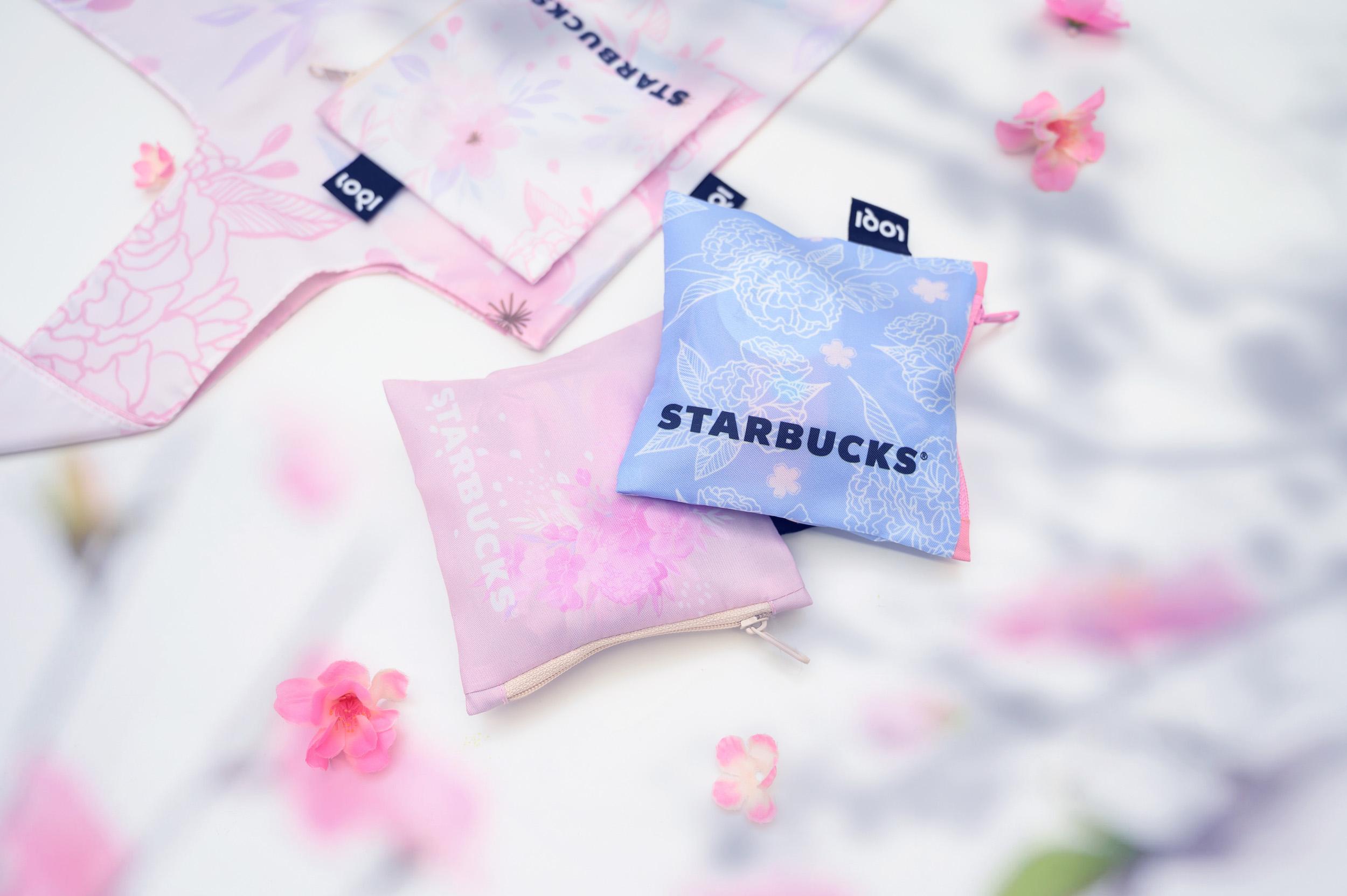 Starbucks® x LOQI Reusable Bags