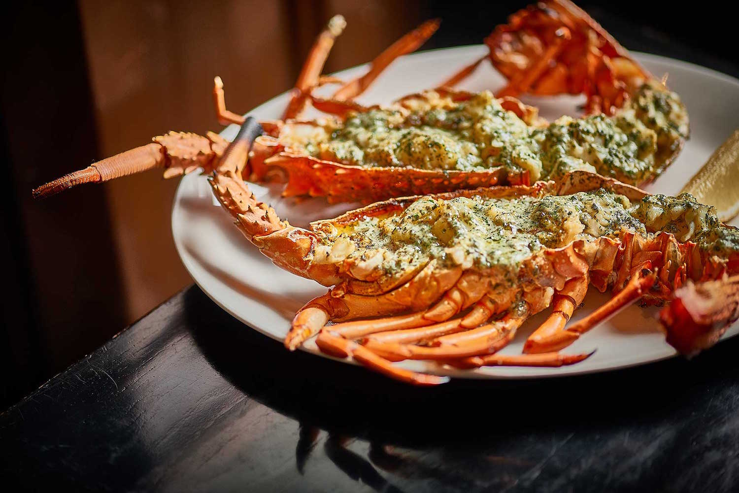Rockpool by Neil Perry: Grill Syndey Signature DIsh Lobster with Herb Butter