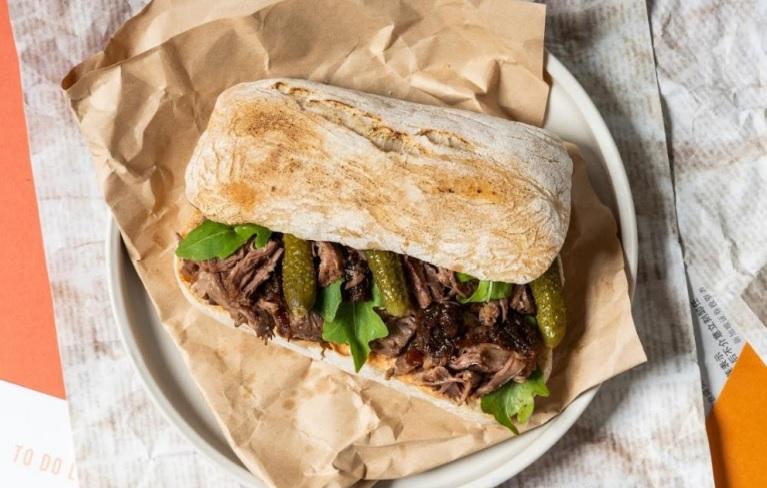 Beef Short Rib from Delismith, $14