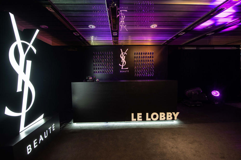 YSL Beauty Hotel in Hong Kong (Photo Courtesy of YSL Beauty)