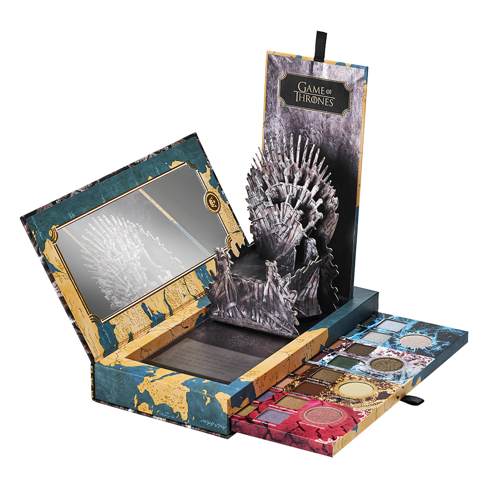 Urban Decay Game of Thrones Eyeshadow Palette ($92)