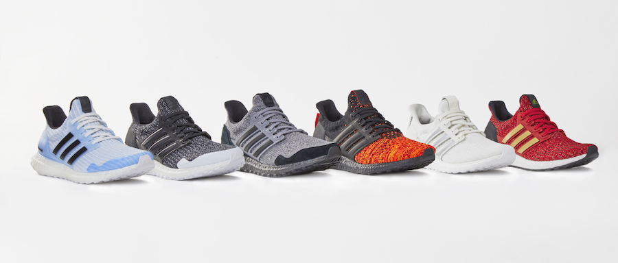 Limited Edition adidas x Game of Thrones Ultraboost collection