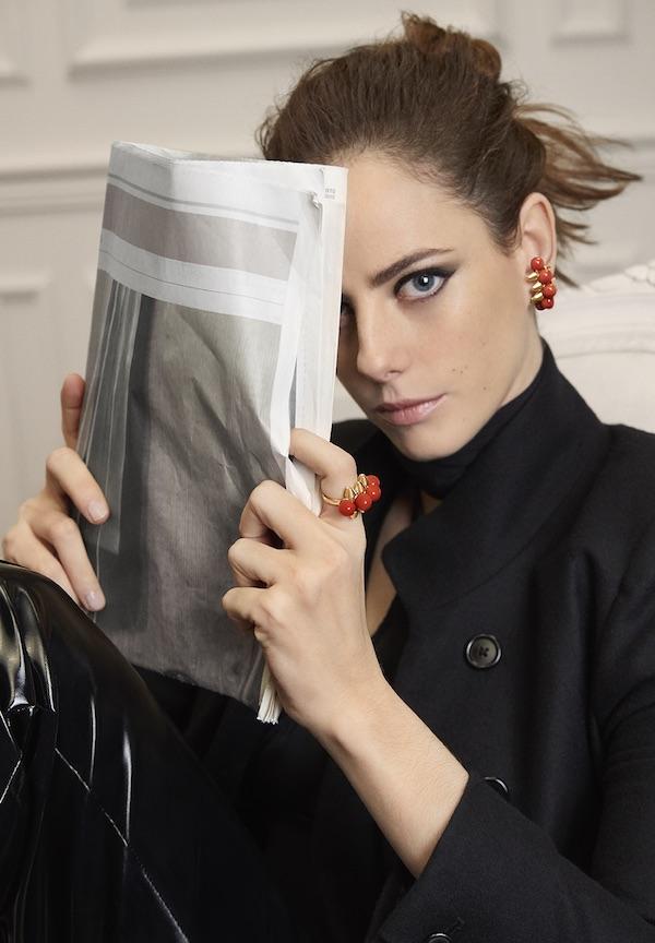 Kaya Scodelario as the face of Clash de Cartier
