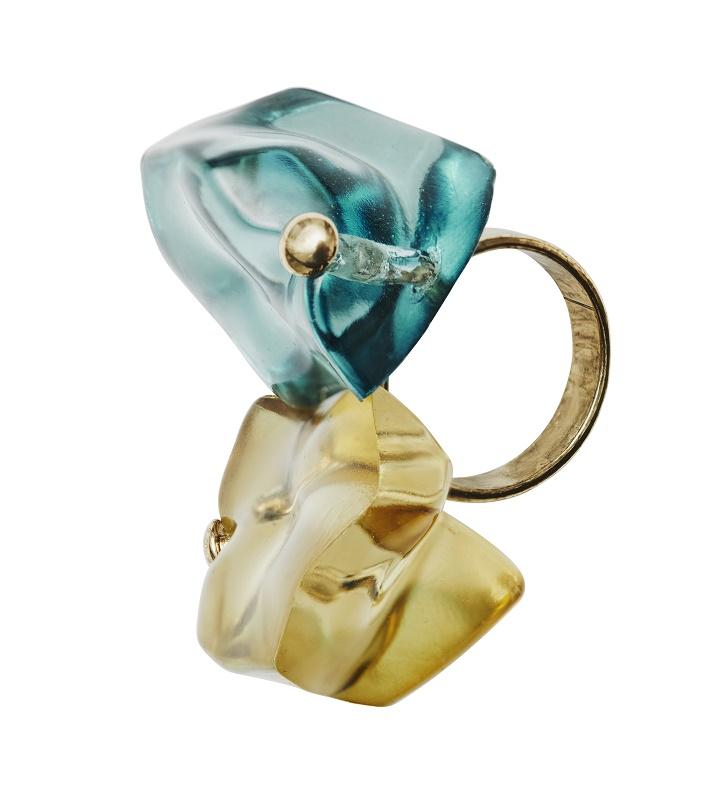 Chunky Gem Ring, $34.95