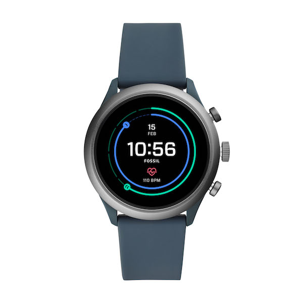 Fossil Sport Smartwatch in Smokey Blue ($489)
