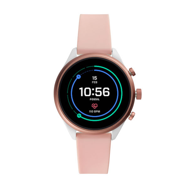 Fossil Sport Smartwatch in Blush ($489)