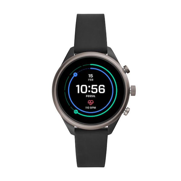 Fossil Sport Smartwatch in Black ($489)