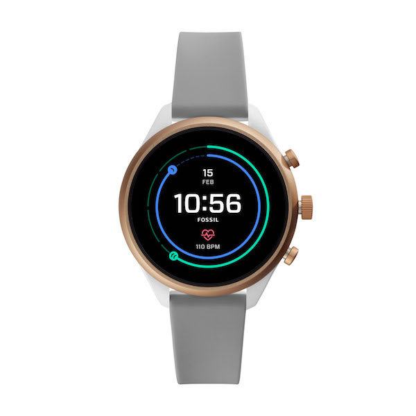 Fossil Sport Smartwatch in Gray ($489)