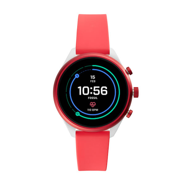 Fossil Sport Smartwatch in Red ($489)