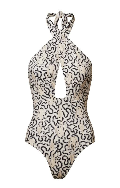 Halter Neck Swimsuit, $74.95