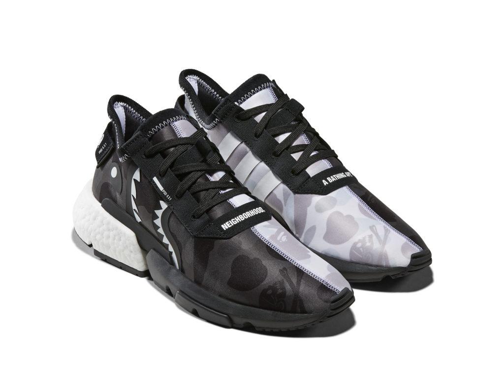 wholesale dealer 8f3f5 d4f80 adidas Originals x A Bathing Ape x Neighborhood  POD-S3.1,  320