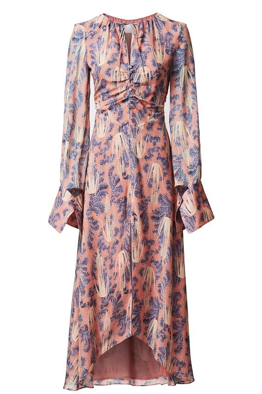 Pink Long Sleeved Dress, $299