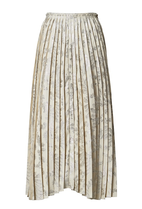 Pleated Skirt, $179