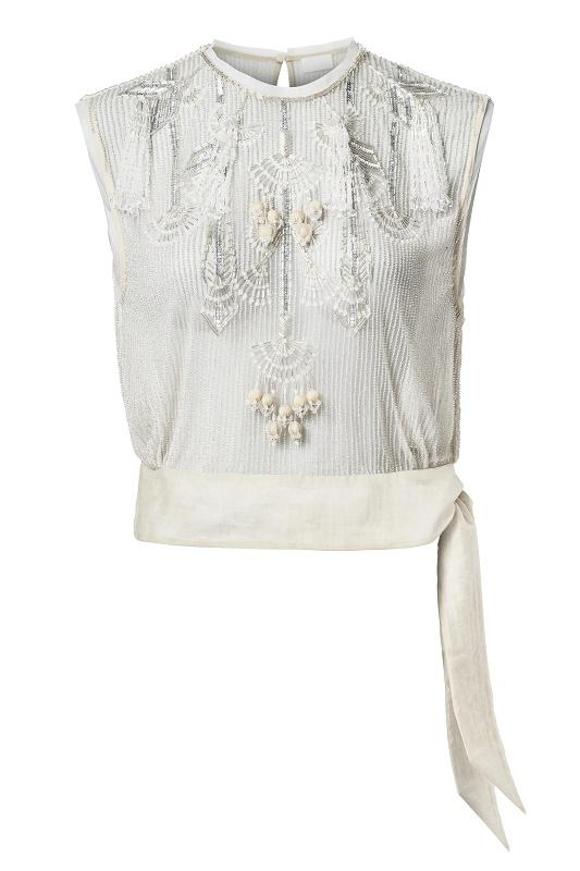 Sequin Embellished Top, $249