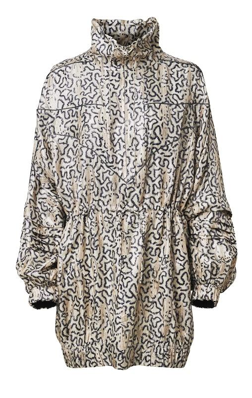 Windbreaker Dress, $249