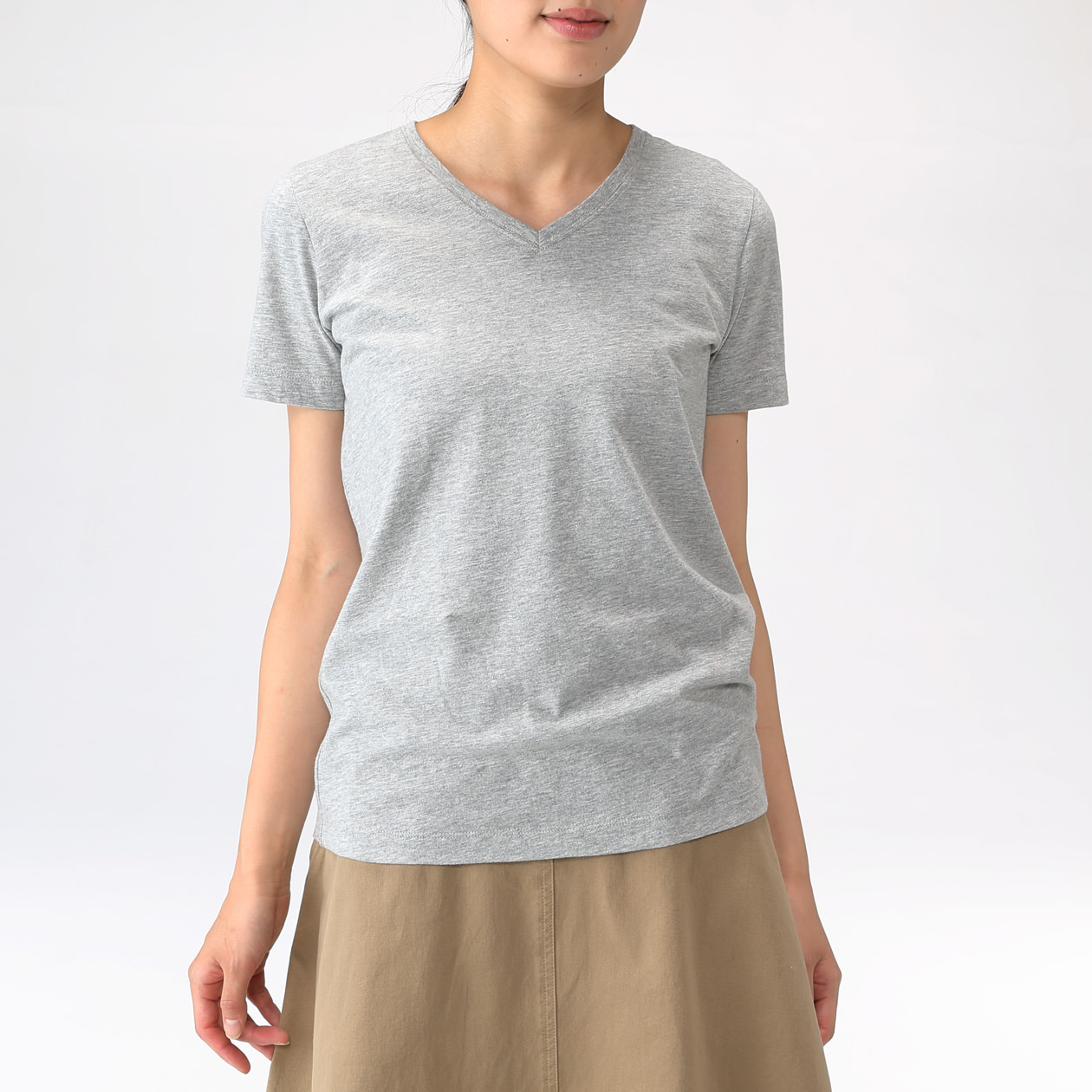 Ladies' Organic Cotton Short Sleeve T-shirt, $13.90