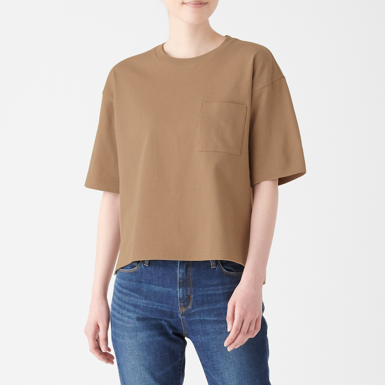 Ladies' Organic Cotton Low Count Wide Short Sleeve T-shirt, Less 10% (U.P. $24.90)