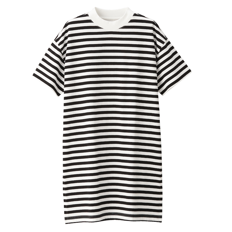 Ladies' Organic Cotton Low Count Short Sleeve Tunic. Less 10% U.P. $39
