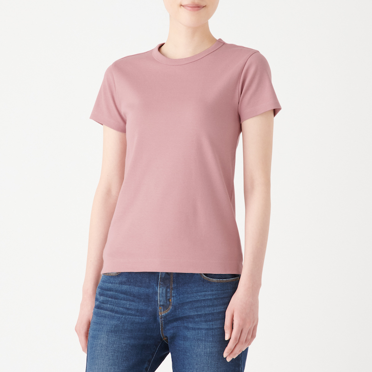 Ladies' Organic Cotton Sweat-Stain Protection T-shirt, Less 10% (U.P. $19.90)
