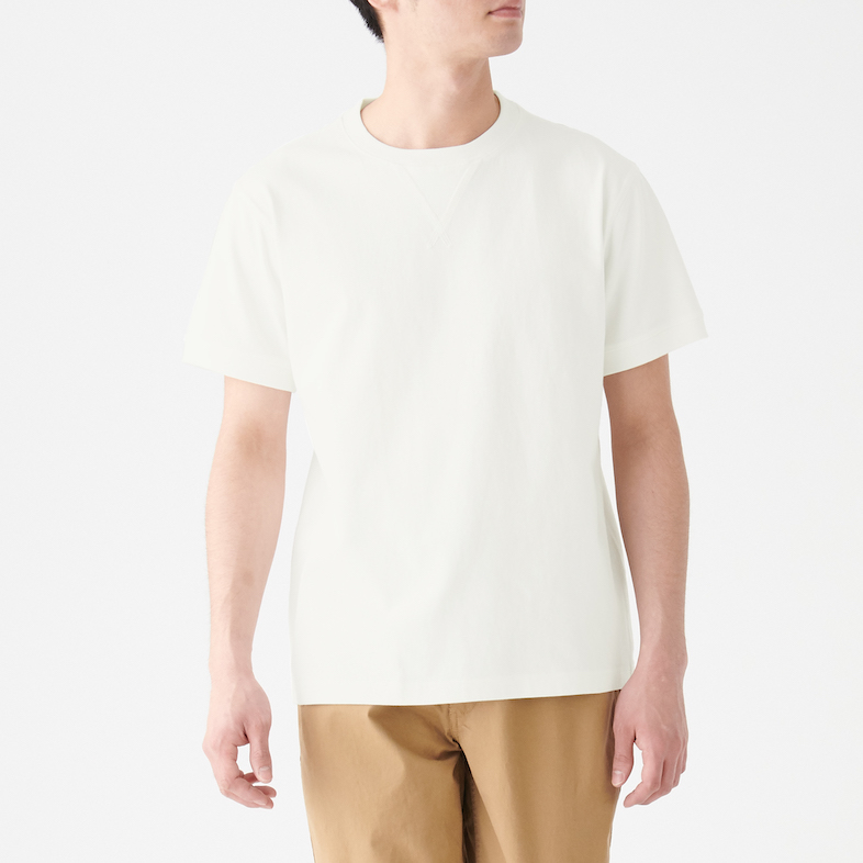 Men's Organic Cotton Low Count Gusset Short Sleeve T-shirt, Less 10% (U.P. $24.90)