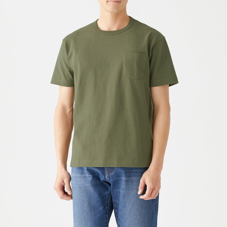 Men's Organic Cotton Low Count Short Sleeve T-shirt, Less 10% (U.P. $24.90)