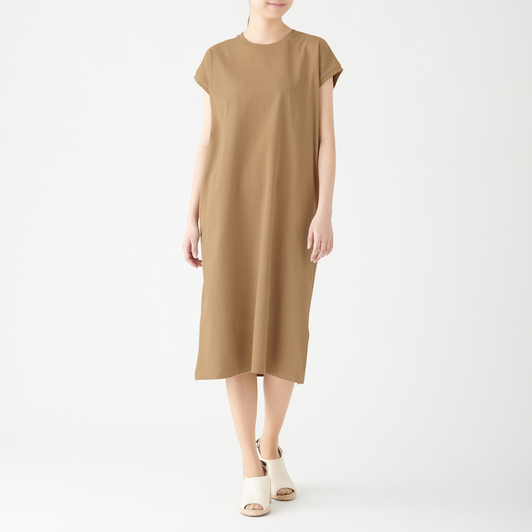 Ladies' Organic Cotton Low Count Short Sleeve Dress. Less 10% U.P. $49