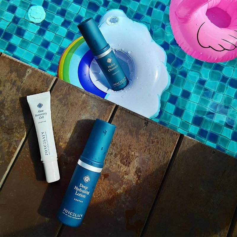 Summer Skincare Kit, $88 (includes SOOTHE Hydro Cleanser (30ml), SOOTHE Deep Hydrating Lotion (30ml), SOOTHE Aloe Recovery Gel (10ml) and Travel Pouch)