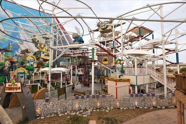 Angry Birds Outdoor Themed Entertainment Park