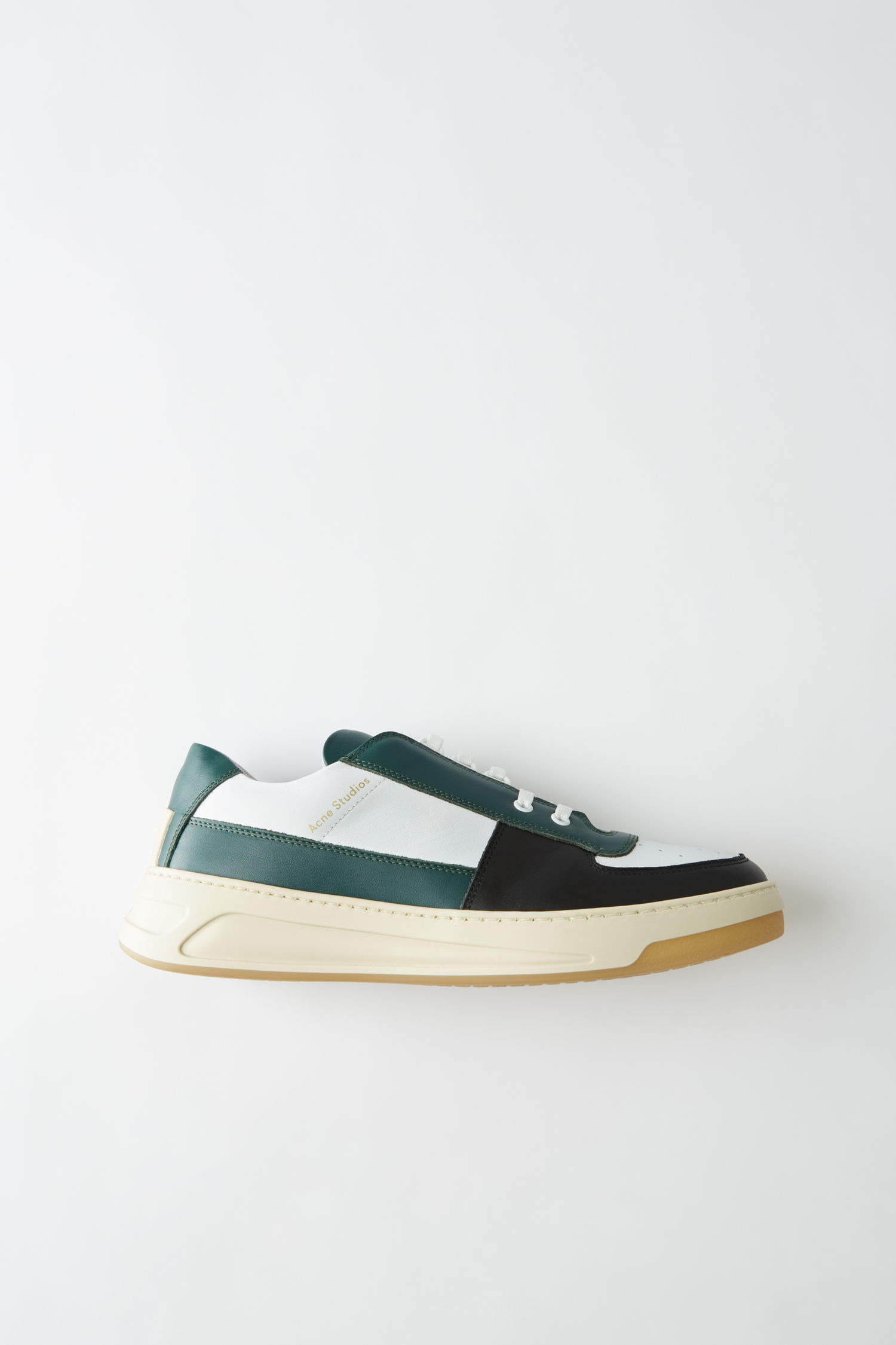 Acne Studios Perey Lace Up in Mix green multi (€340)