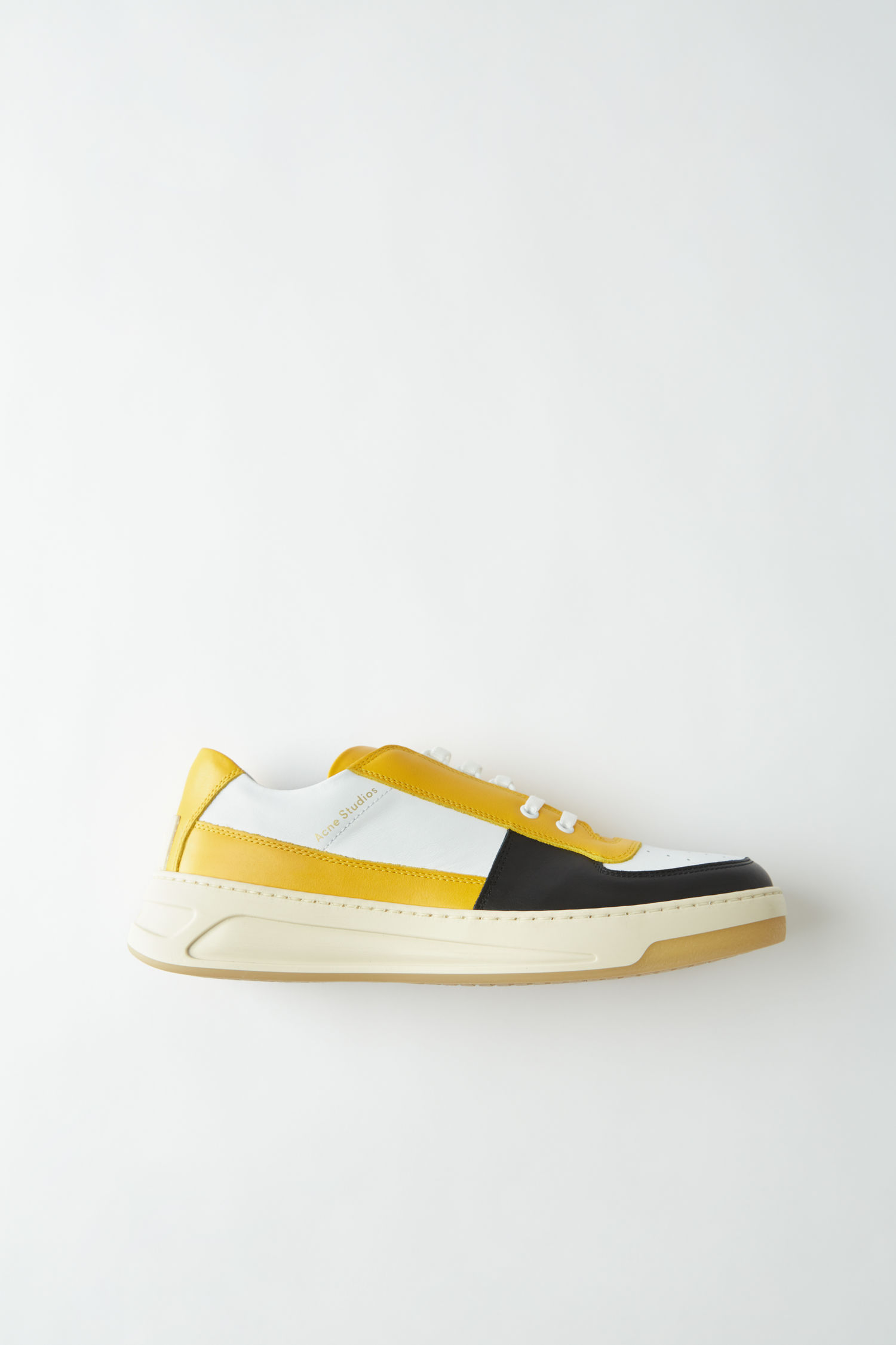 Acne Studios Perey Lace Up in Mix yellow multi (€340)