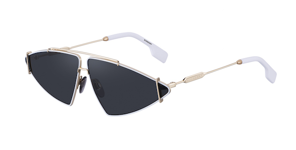 Triangular Frame Sunglasses BE3111 ($410)
