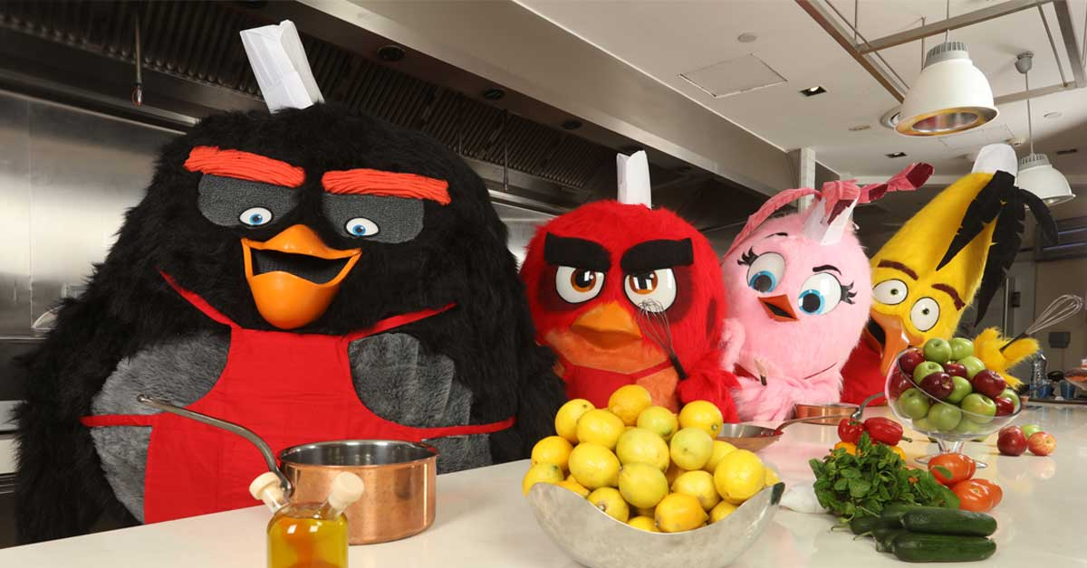 Angry Birds Workshops