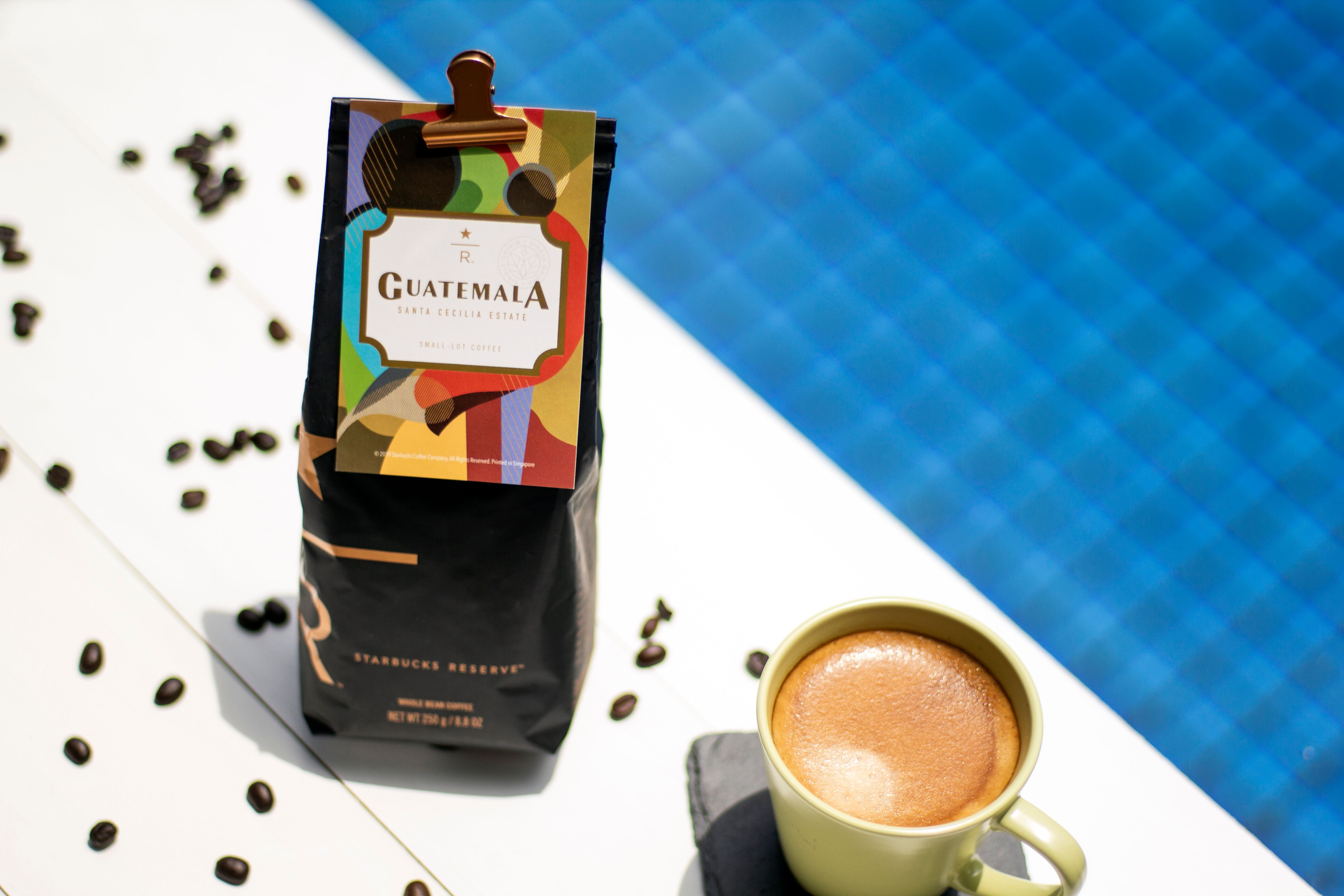 Guatemala Santa Cecilia Estate ($28.00/250g), only available at Starbucks Reserve™ stores