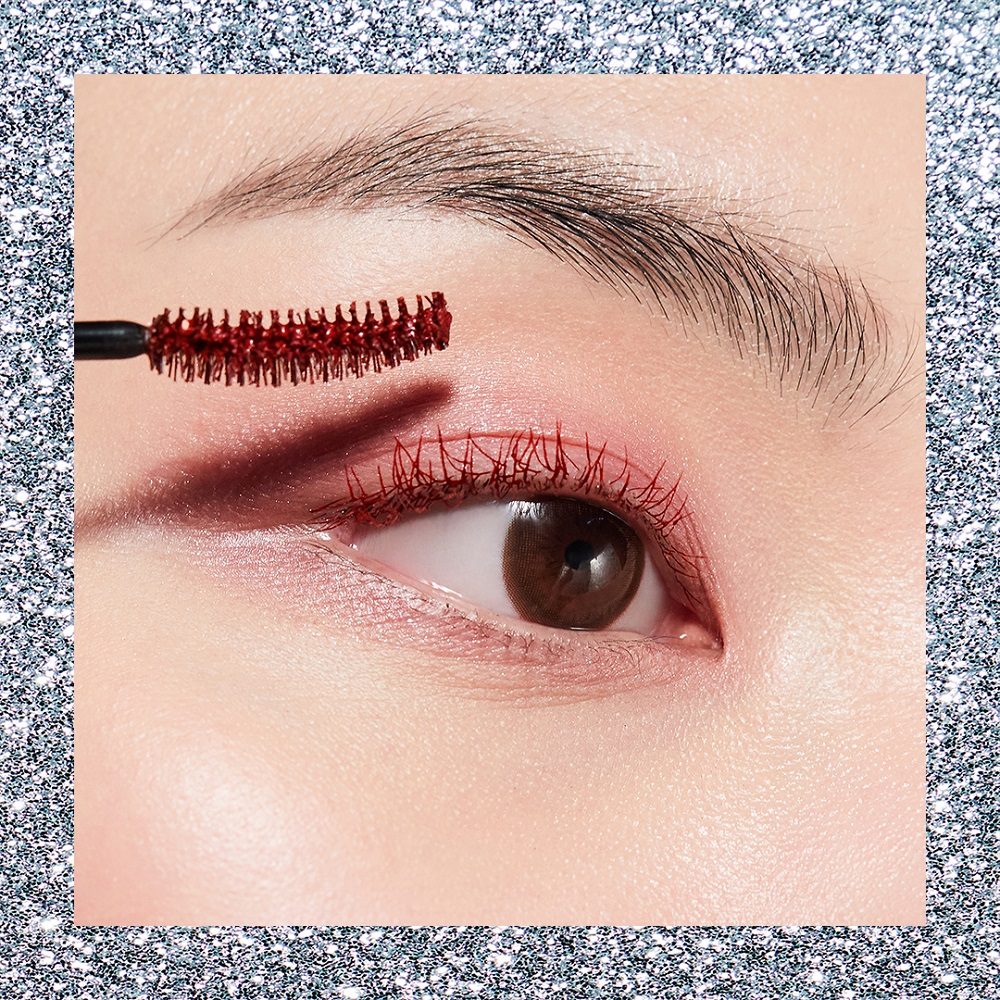 Rich Curling Mascara in #45 Vintage Red, $45