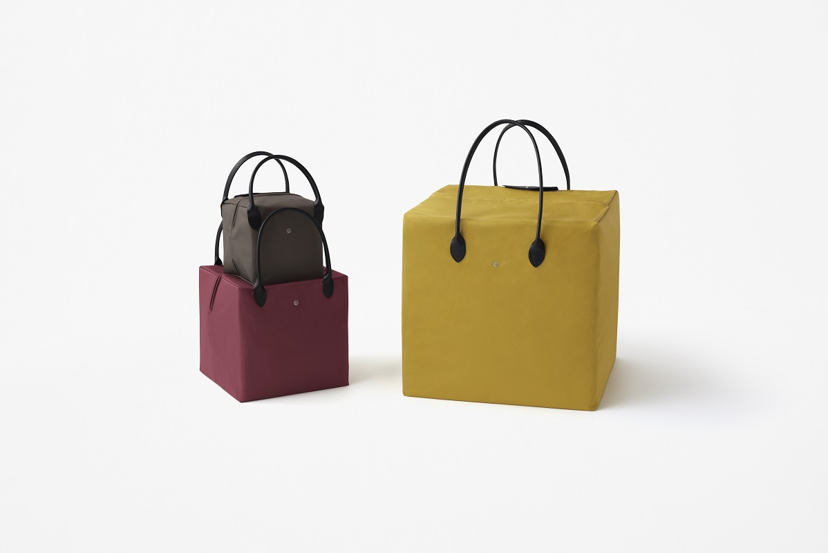 ba578d8857 In this collaboration with Japanese design studio nendo, this is taken a  step further as the new generation of Le Pliage® bags undergo some  reimagination.