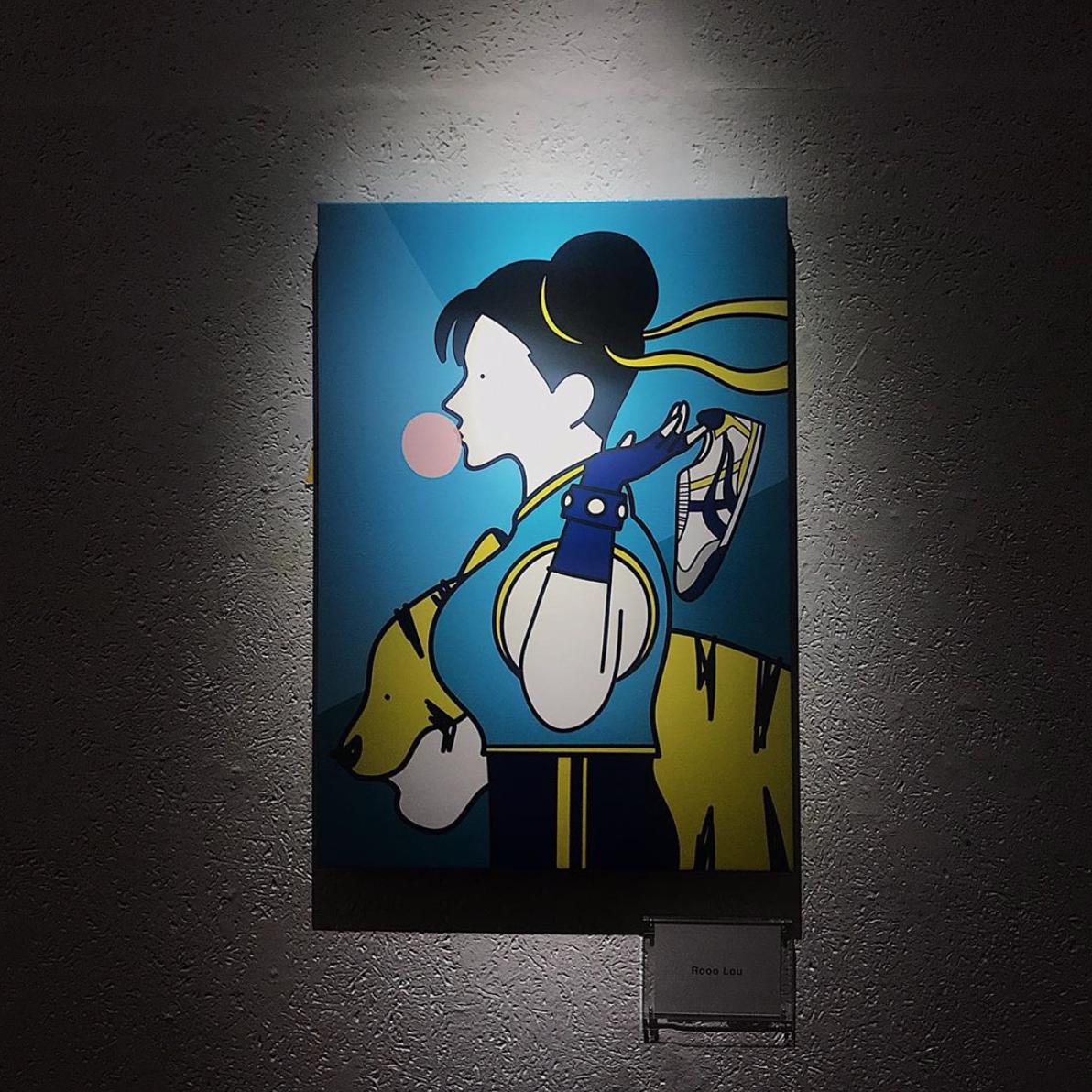 Chun-Li visual by Rooo Lou