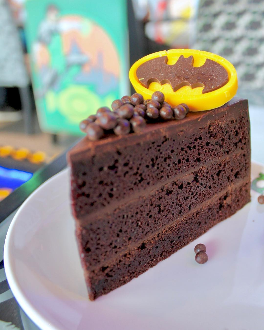 Batman Chocolate Fudge Cake ($9.90)