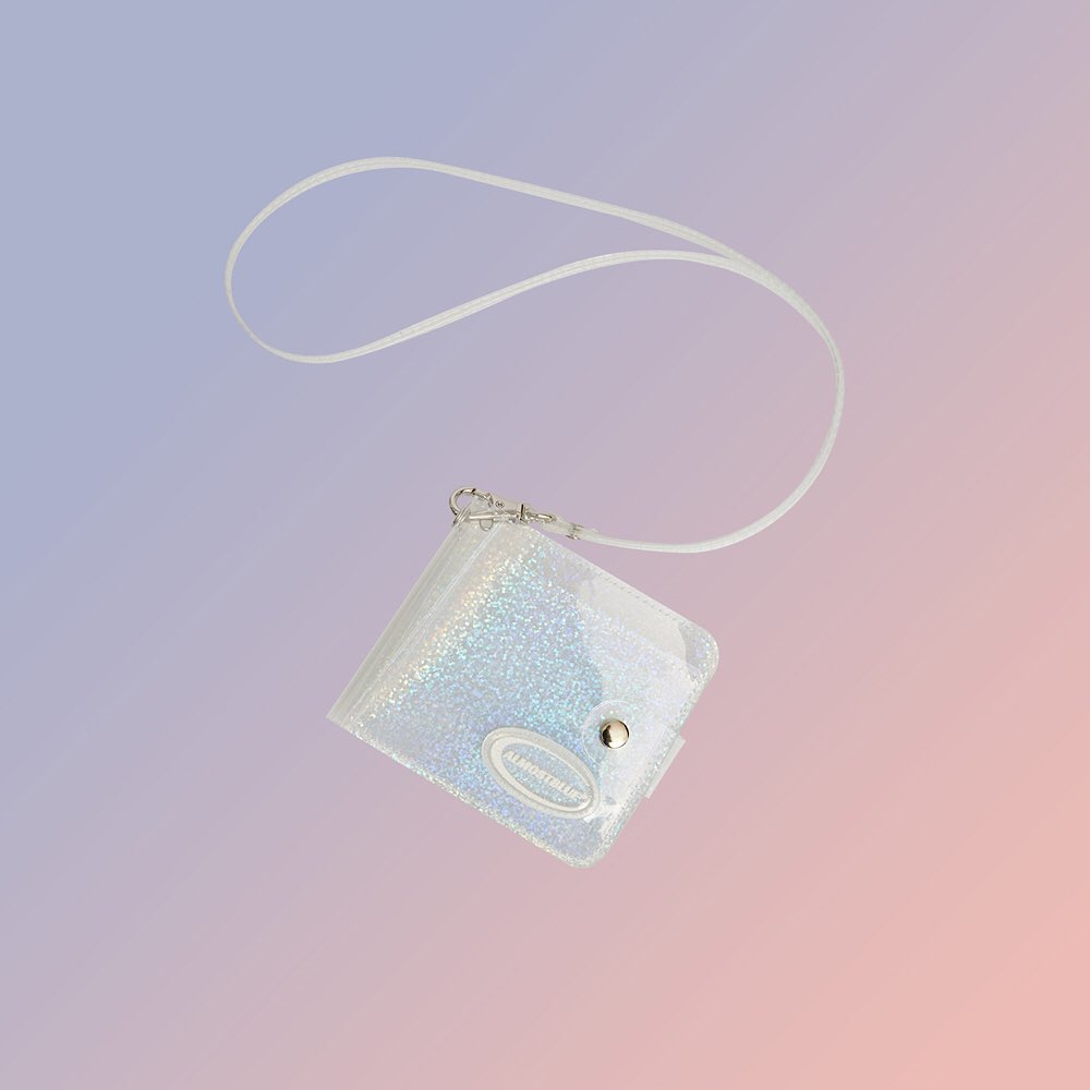 Twinkle Jelly Wallet in Hologram