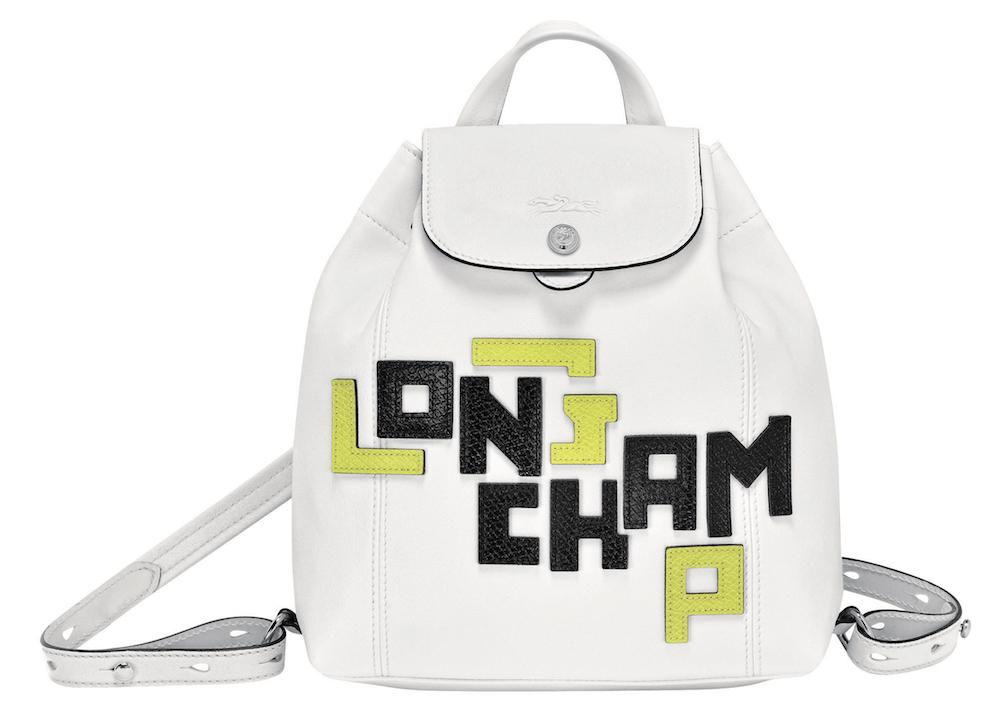 Le Pliage Cuir LGP Backpack_White, $930