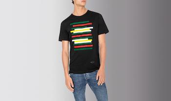 MINI Stripe T-Shirt Men's (Black)