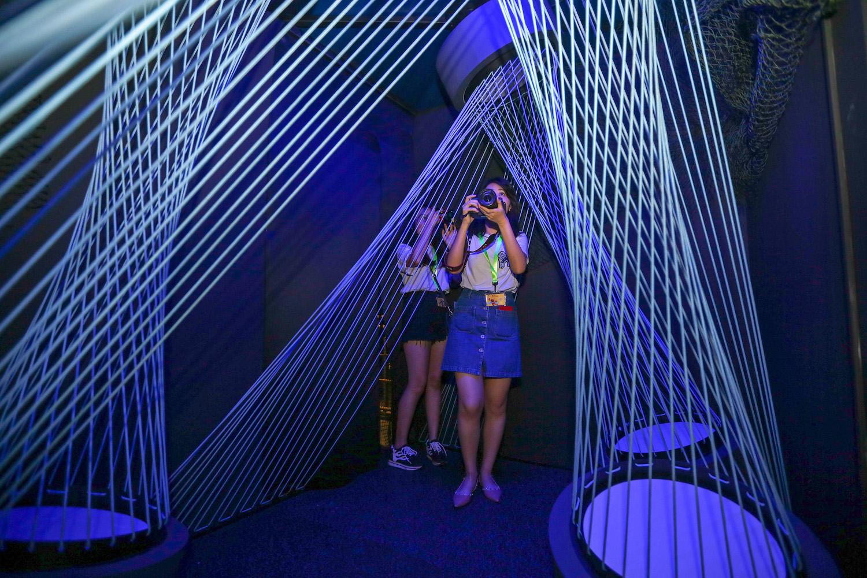 S.E.A. Aquarium Ocean Fest: Sound Box Blasting