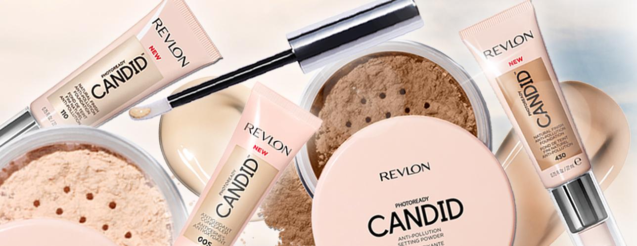 natural makeup revlon candid