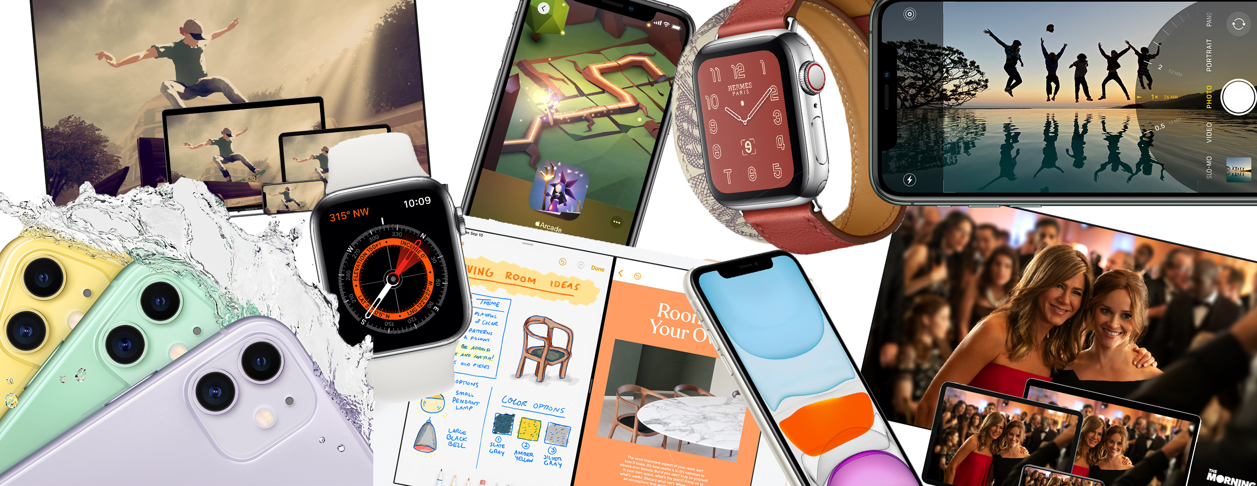 Apple iPhone 11 Pro, Apple Watch Series 5, iPad 2019 10 2