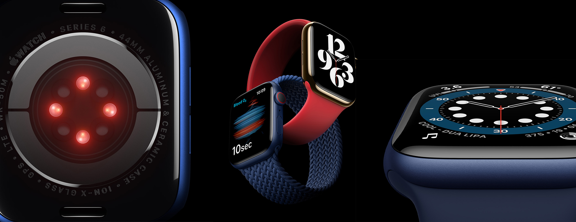 Apple Watch Series 6 has a New Blue Case, Faster Dual-Core Processor and  Can Measure Blood Oxygen Levels - NYLON SINGAPORE