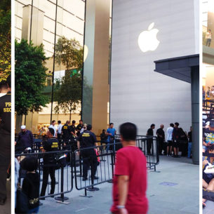 Crazy Expensive New iPhones Do Not Deter Hundreds Of Apple Fans From Queueing Days Before
