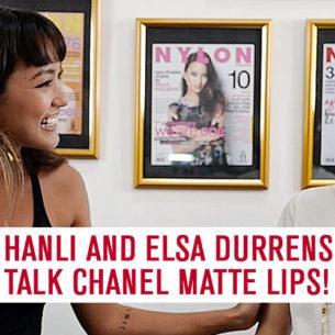 Hanli talks to Elsa Durrens, Chanel Press Makeup Artist on Matte Lips