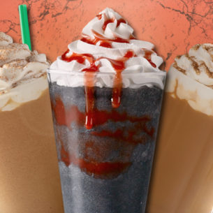 We're Freaking Out Over Starbucks' New Zombie Frappuccino!