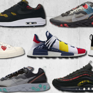 All the new sneakers from Dover Street Market Singapore dropping this week