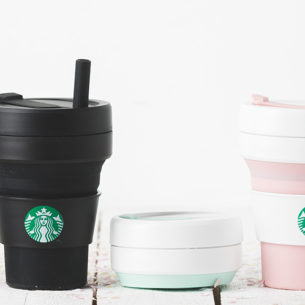 Starbucks Goes Green With Collapsible Sippy Cups And Reusable Rubber Straws