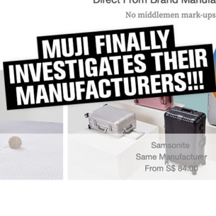 Muji is investigating claims about their manufacturers